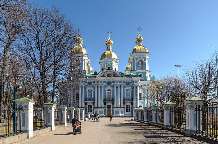 Никольский морской собор - достопримечательности Санкт-Петербурга