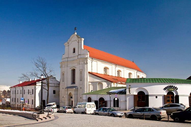 Монастырь бернардинцев - достопримечательности Минска