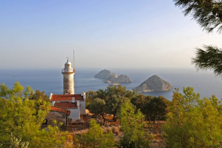Мыс и маяк Гелидония - Что посмотреть в Кемере