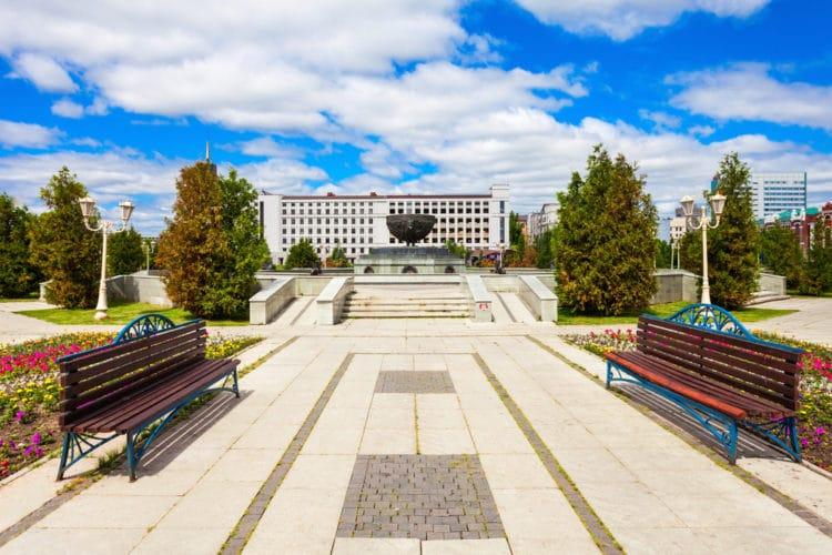 Парк Тысячелетия - достопримечательности Казани