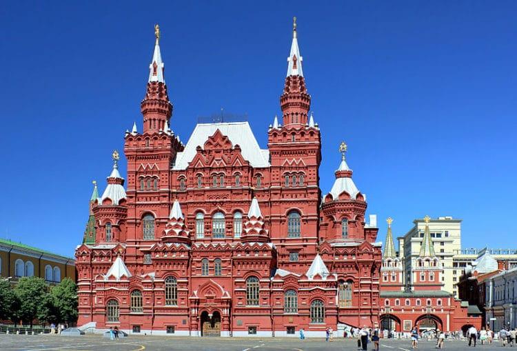 Государственный исторический музей - достопримечательности Москвы