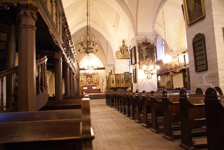 Церковь Святого Духа - достопримечательности Таллина