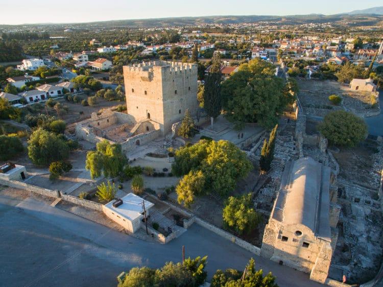 Замок Колосси - достопримечательности Лимассола