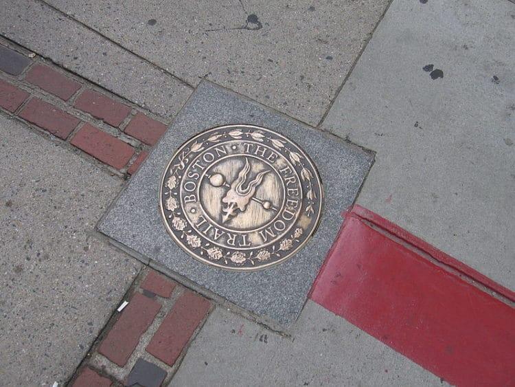 Путь Свободы - достопримечательности Бостона