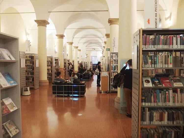 Библиотека Салаборса - достопримечательности Болоньи