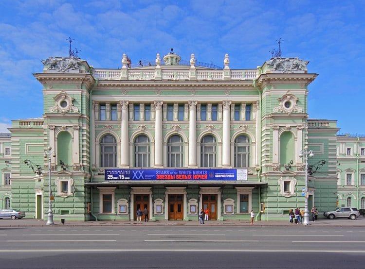 Мариинский театр - достопримечательности Санкт-Петербурга