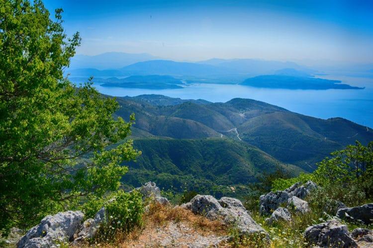 Гора Пантократор - достопримечательности Корфу