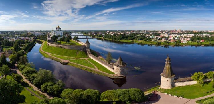 Самые красивые города России - Псков