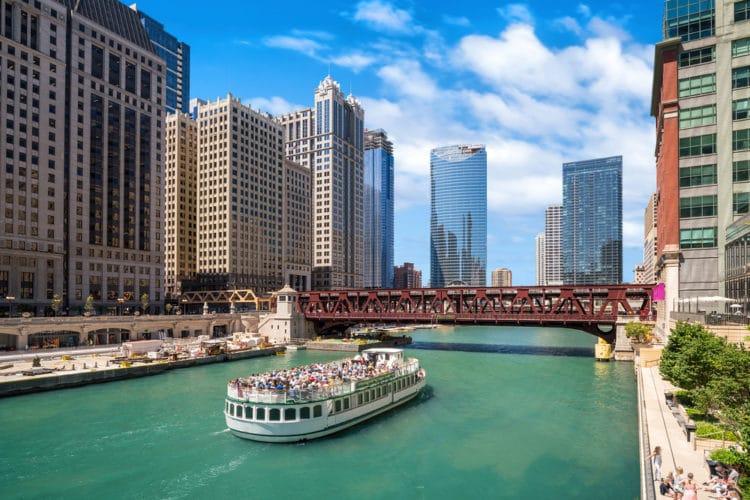 Река Чикаго - Что посмотреть в Чикаго