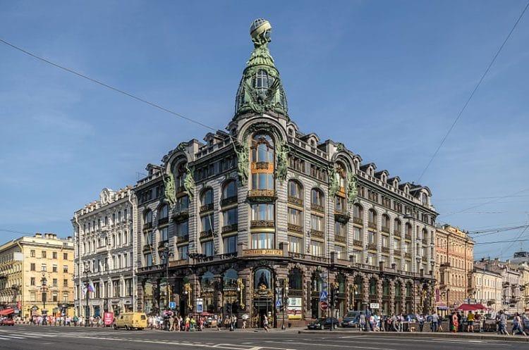 Дом компании «Зингер» - достопримечательности Санкт-Петербурга