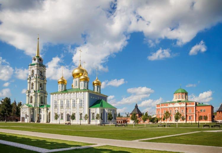 Успенский и Богоявленский соборы Тульского кремля - достопримечательности Тулы