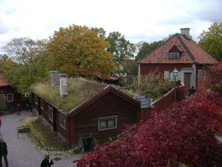 Этнографический музей Скансен - достопримечательности Стокгольма