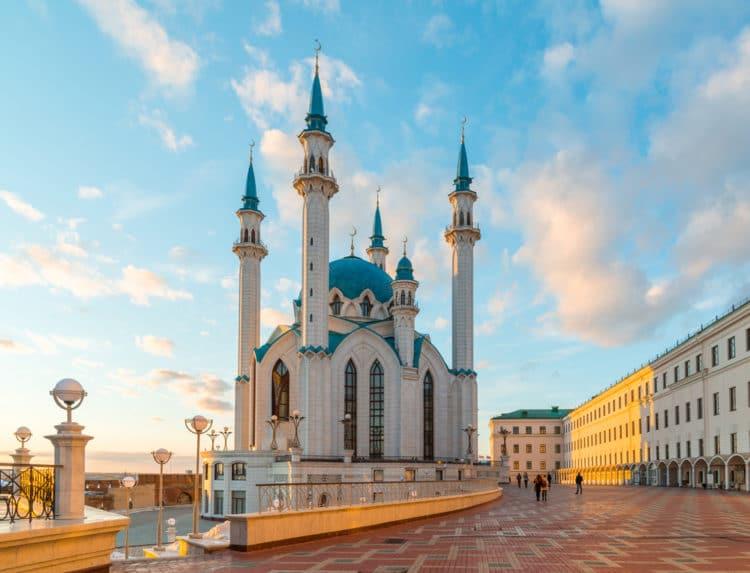 Мечеть Кул-Шариф - достопримечательности Казани