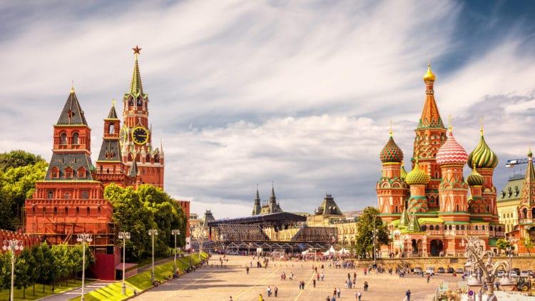 Самые красивые города России - Москва