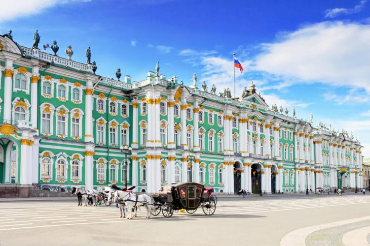 Государственный Эрмитаж - достопримечательности Санкт-Петербурга