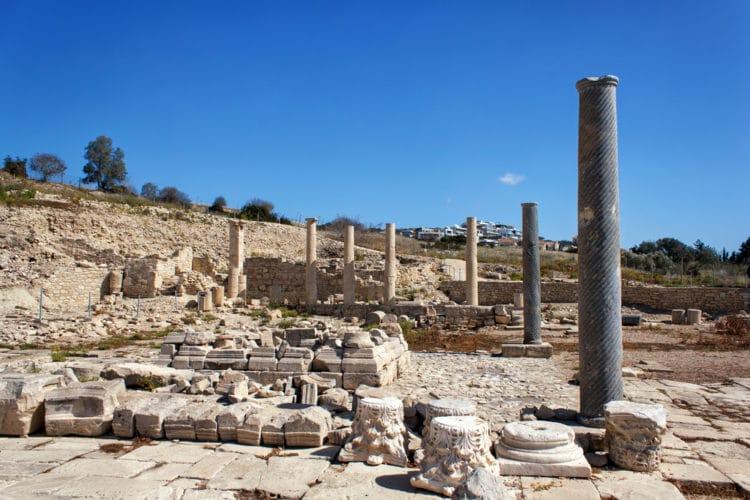 Древний город Аматус - достопримечательности Лимассола