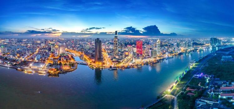 Река Сайгон - достопримечательности Хошимина