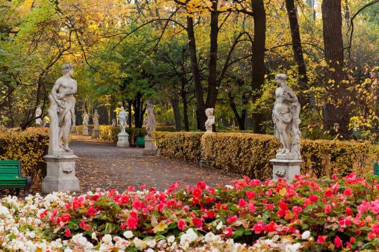 Летний сад - достопримечательности Санкт-Петербкрга