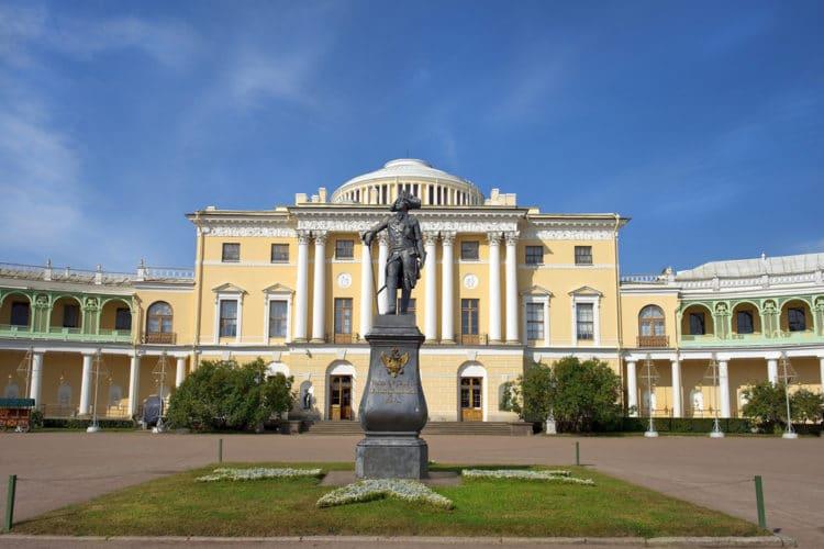 Музей-заповедник Павловск - достопримечательности Санкт-Петербурга