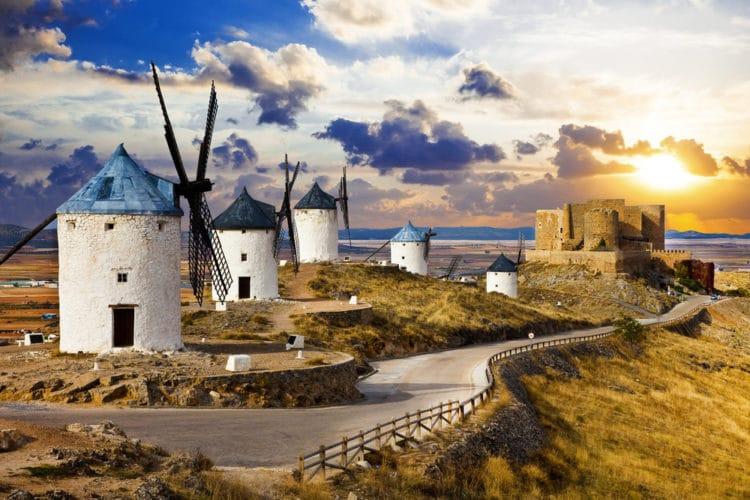 Комплекс ветряных мельниц - Что посмотреть в Толедо