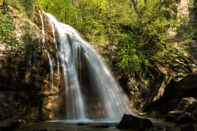 Водопад Джур-Джур - достопримечательности Крыма