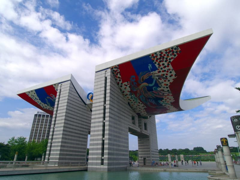 Олимпийский парк - достопримечательности Сеула
