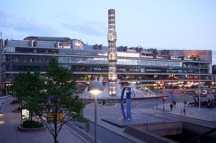 Культурхюсет - достопримечательности Стокгольма