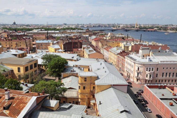 Крыши Санкт-Петербурга - достопримечательности Санкт-Петербурга