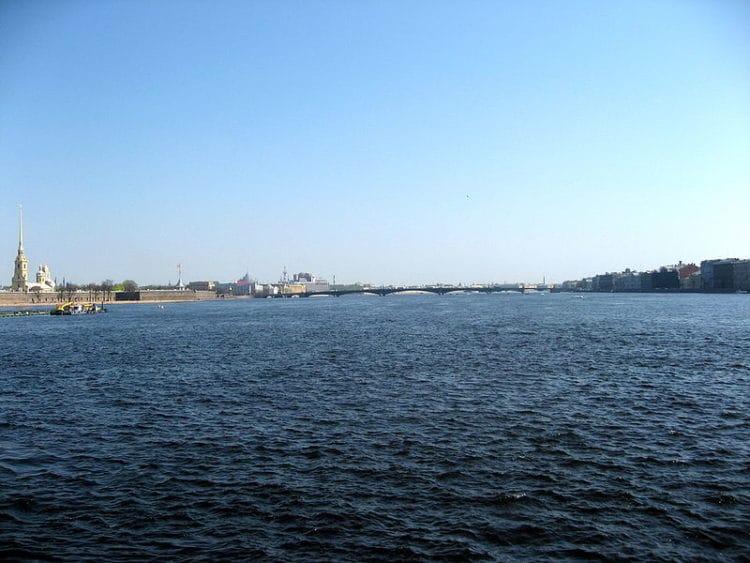 Река Нева - достопримечательности Санкт-Петербурга