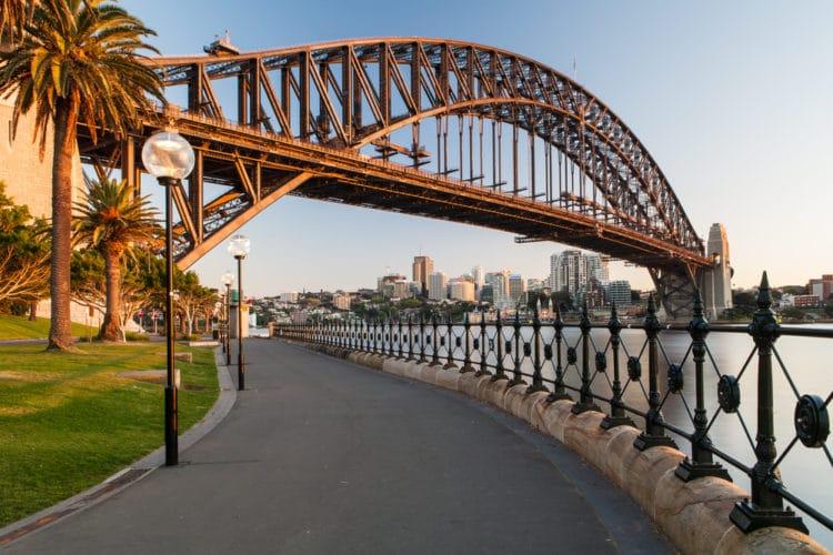 Мост Харбор Бридж - достопримечательности Сиднея
