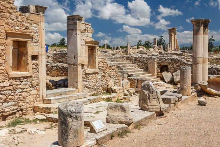 Святилище Аполлона Гилата - достопримечательности Лимассола