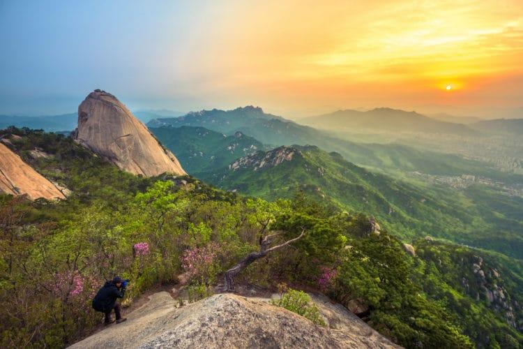Национальный парк Пукхансан - достопримечательности Сеула