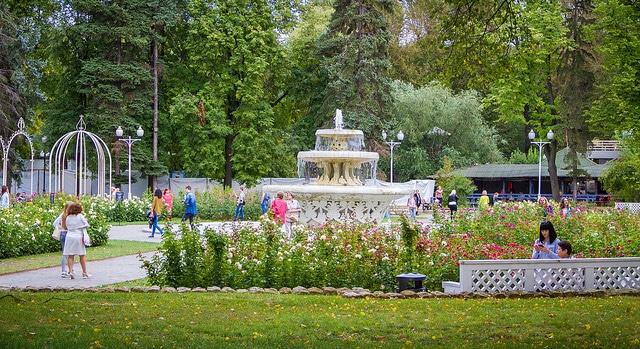 Парк Горького - достопримечательности Москвы