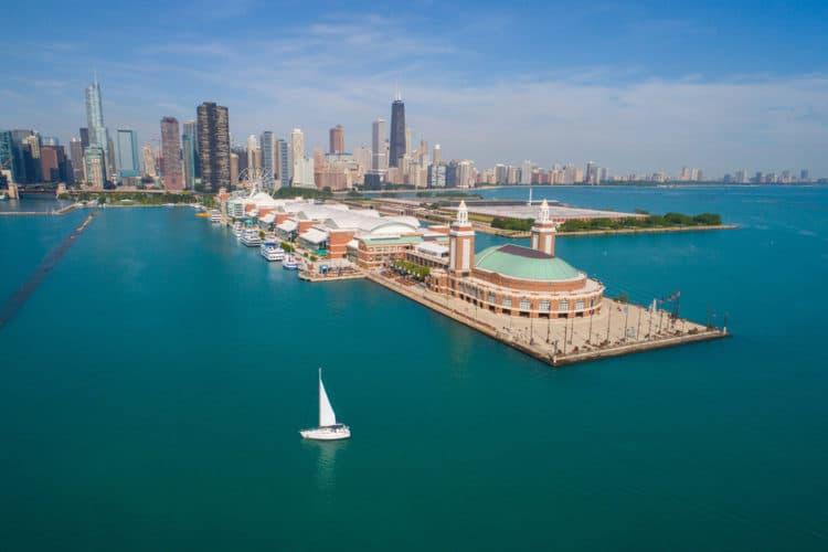 Военно-морской пирс - дрстопримечательности Чикаго