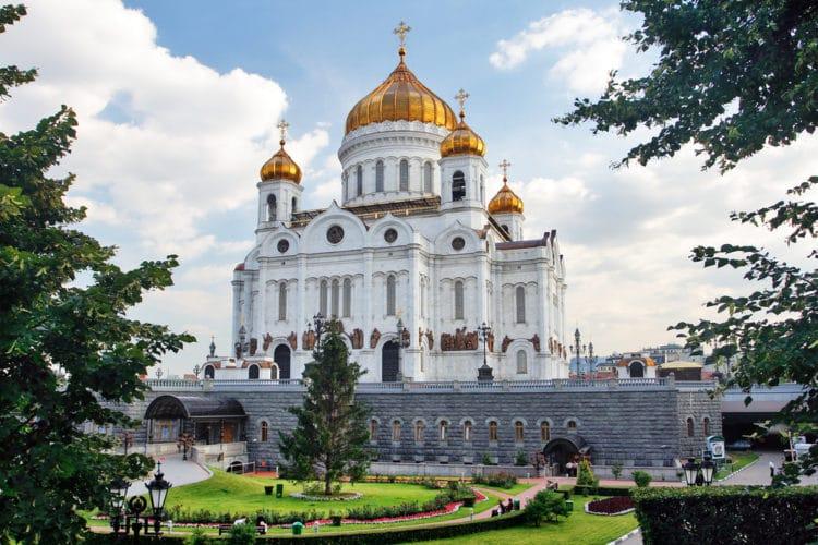 Храм Христа Спасителя - достопримечательности Москвы