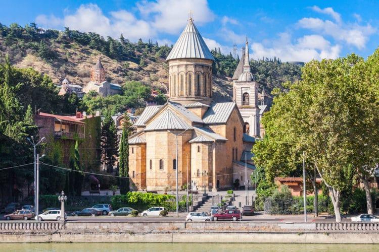 Сионский собор - достопримечательности Тбилиси