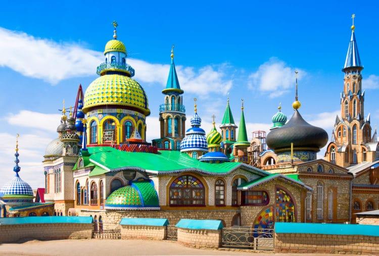 Храм всех религий - достопримечательности Казани