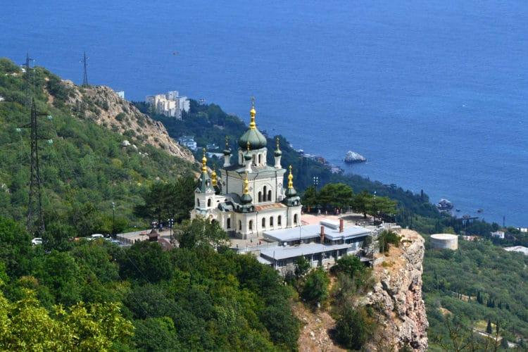 Форосская церковь - достопримечательности Крыма