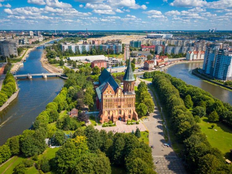 Самые красивые города России - Калининград