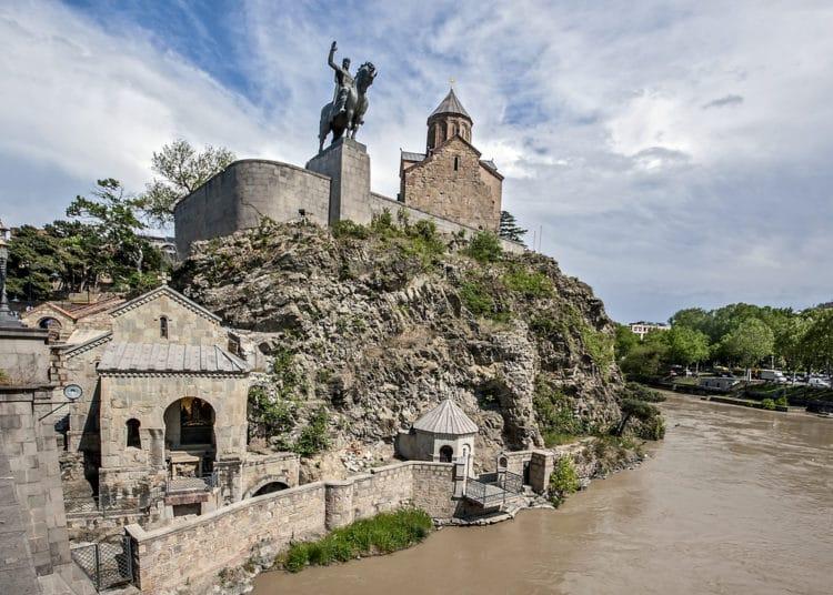 Храм Метехи - достопримечательности Тбилиси