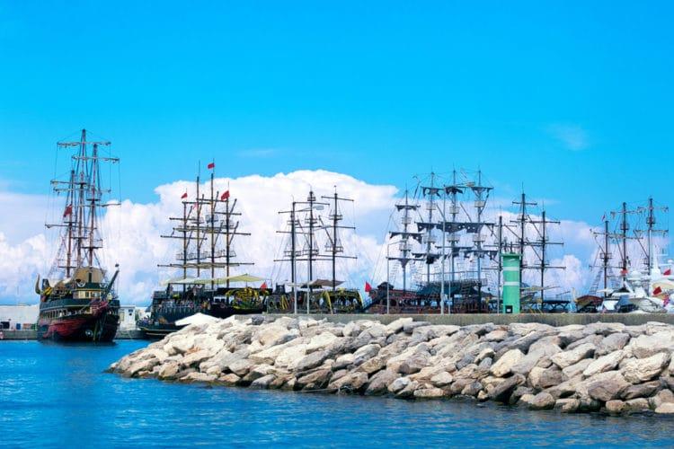 Порт Кемера - достопримечательности Кемера