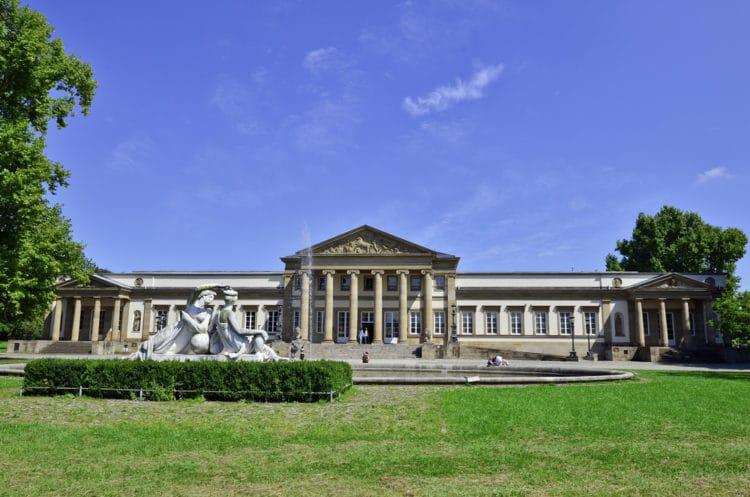 Дворец Розенштайн - достопримечательности Штутгарта