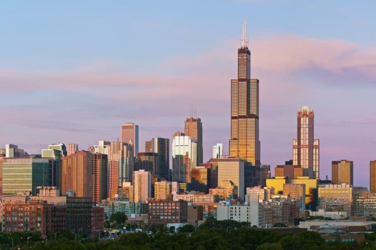 Уиллис-тауэр - достопримечательности Чикаго