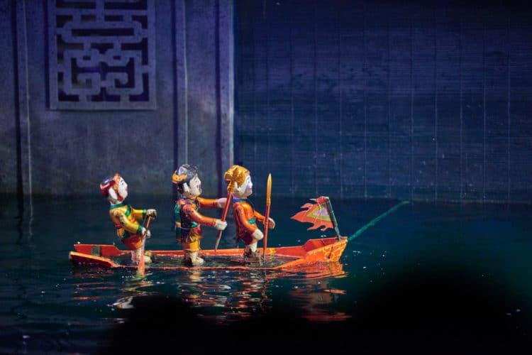 Кукольный театр на воде - достопримечательности Хошимина