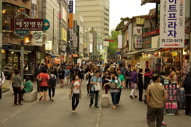 Район Инсадонг - достопримечательности Сеула