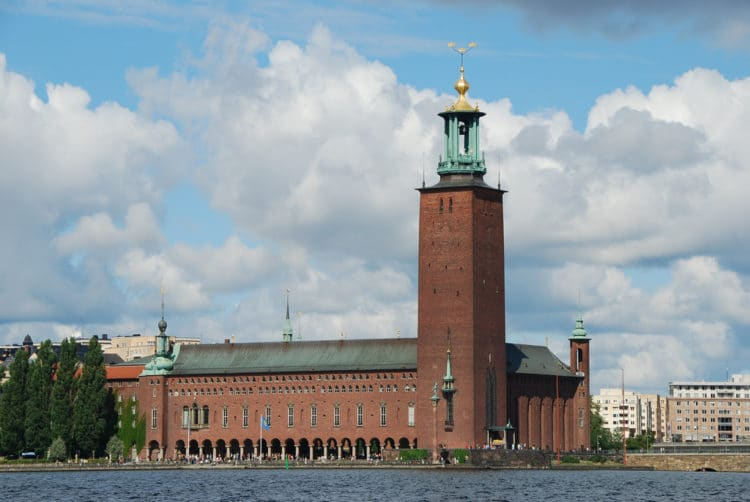 Стокгольмская ратуша - достопримечательности Стокгольма
