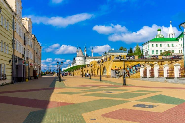 Улица Баумана - достопримечательности Казани