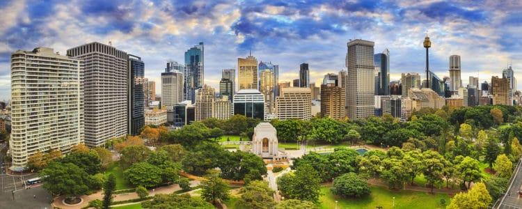 Гайд-парк - достопримечательности Сиднея