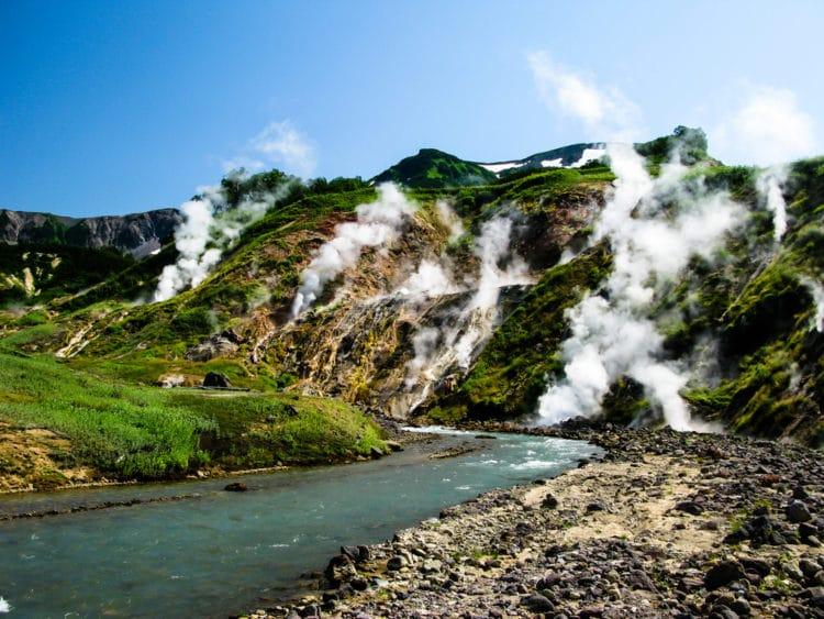 Долина Гейзеров - достопримечательности Камчатки
