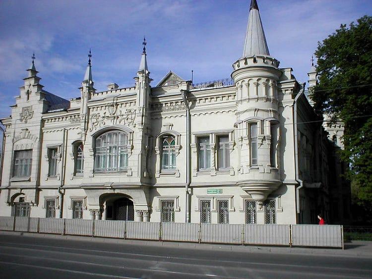 Дом Шамиля - достопримечательности Казани